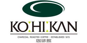 珈琲館のロゴ画像